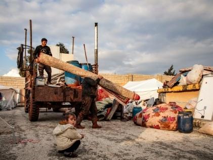 Plus de 235.000 déplacés en deux semaines de combats en Syrie, selon l'ONU