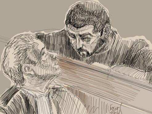 Arrogant et souriant: les images ACCABLANTES de la garde à vue de Nemmouche