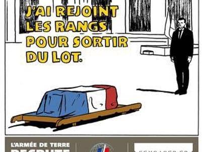 Caricatures de Charlie Hebdo sur les soldats tués au Mali : l'armée s'indigne