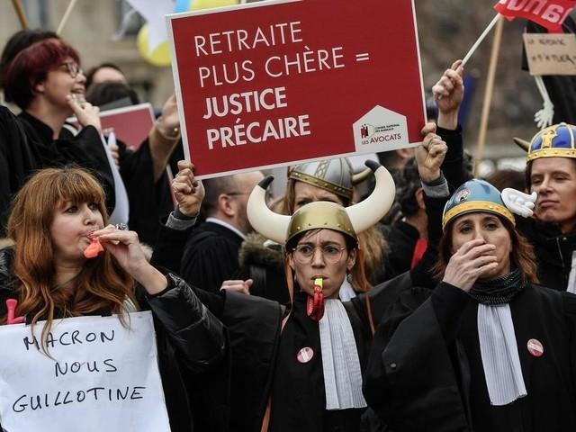 «Défense massive» des avocats de Paris contre la réforme des retraites