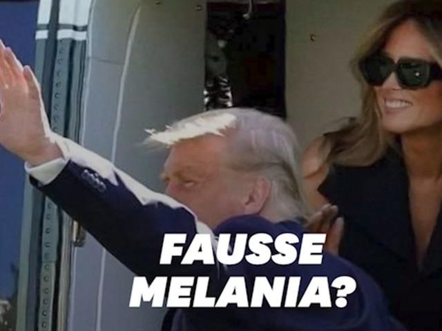 La théorie selon laquelle Melania Trump a une doublure est de retour avec cette photo