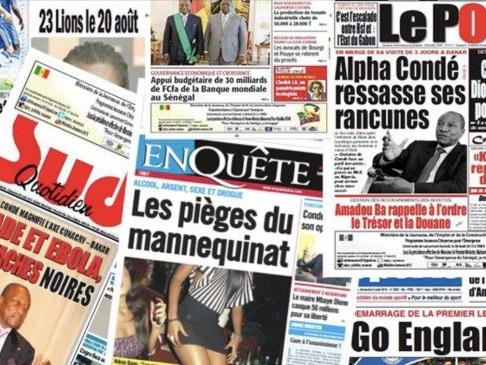 Politique et faits de sociétés au menu des quotidiens sénégalais