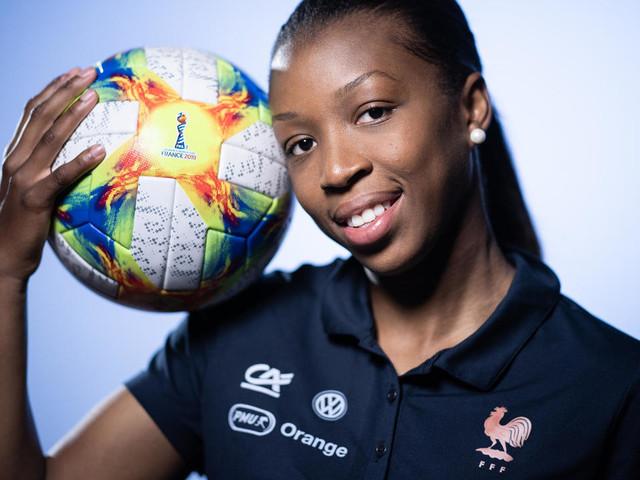 """Bleues: """"Je sens qu'on me fait confiance"""", dit Grace Geyoro à l'AFP"""