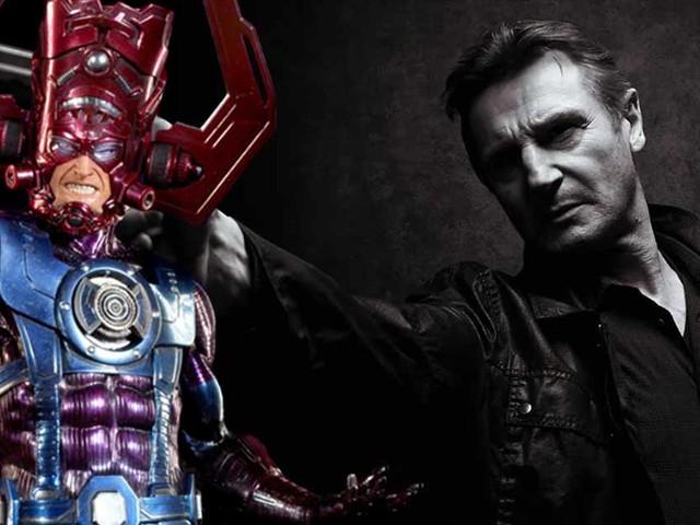Et si Marvel voulait Liam Neeson dans le MCU pour jouer Galactus ?