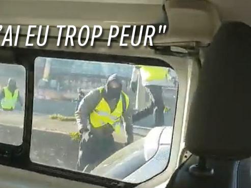 Jets de pavés, sauts sur le capot: un fourgon de police violemment attaqué lors de la manifestation des gilets jaunes à Lyon (vidéo)