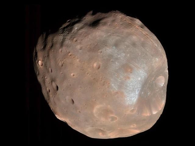Mars : vidéo inédite de la lune Phobos