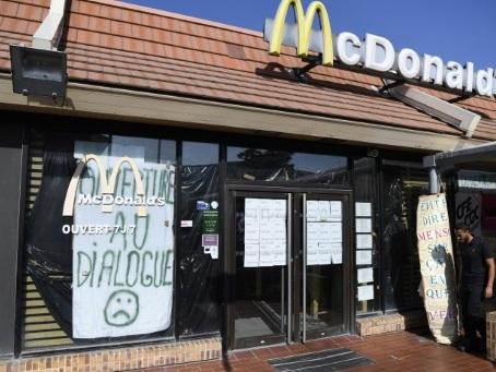 """Marseille: le """"McDo"""" de Saint-Barthélémy officiellement en liquidation judiciaire"""