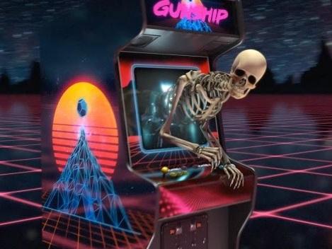 GUNSHIP : un inédit dévoilé, The Video Game Champion (vidéo paroles)