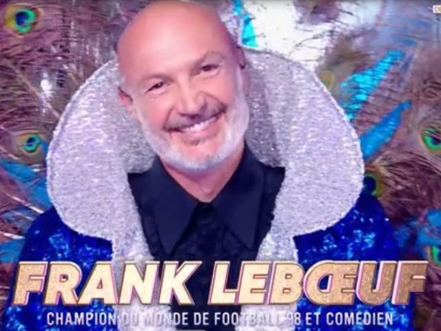 """Mask Singer : Frank Leboeuf caché sous le costume de paon, sa fille Jade avait des """"suspicions"""""""
