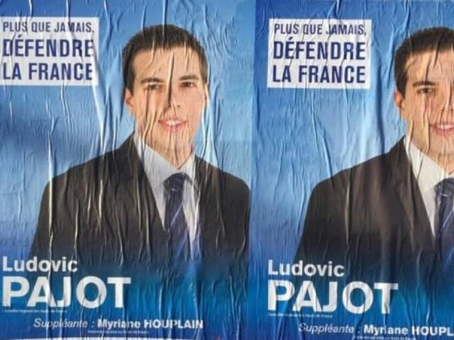 Résultats législatives 2017: le Front national a encore fait élire le benjamin de l'Assemblée nationale, Ludovic Pajot