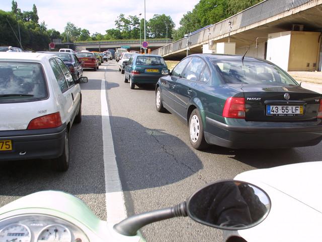 Paris, la ville la plus embouteillée de France !