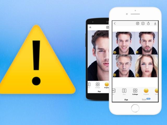 Gare à la vie privée: l'app FaceApp peut réutiliser vos photos