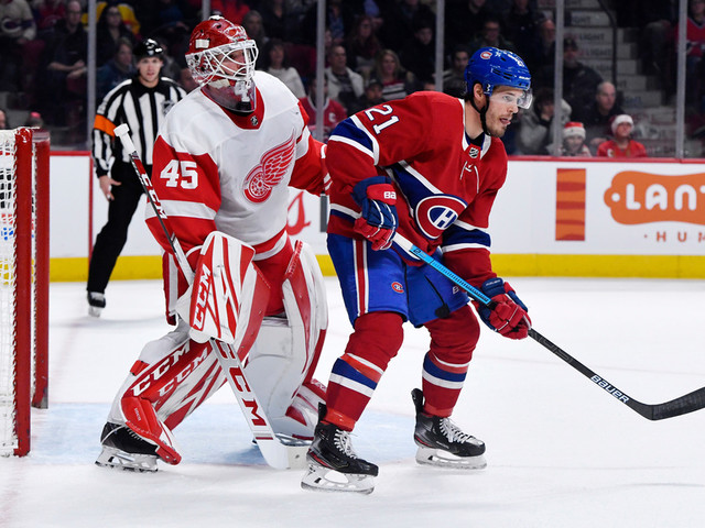 Red Wings 2 - Canadien 1 (3e période)