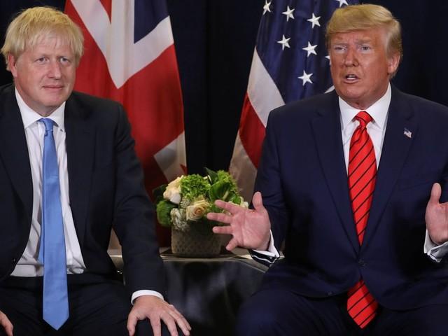 Au sommet de l'OTAN, Trump pourrait mettre Johnson très mal à l'aise