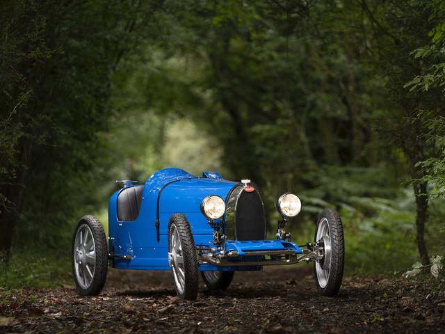 Toutes les photos de la Bugatti Baby II, la Type 35 des enfants