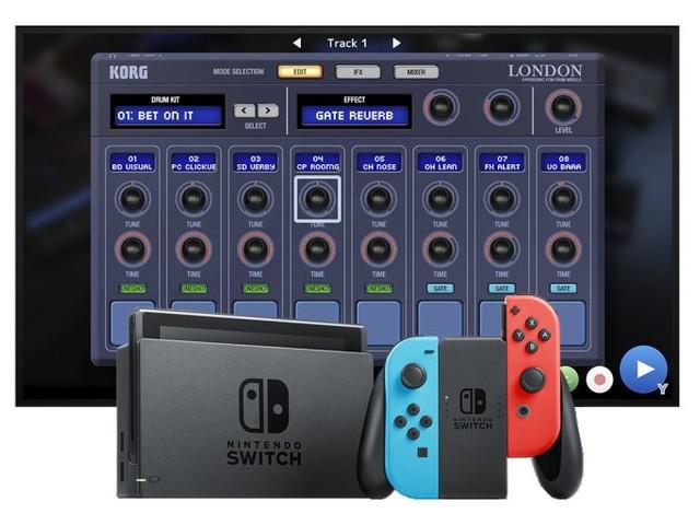 Korg Gadget : un studio de composition musicale portatif sur Nintendo Switch