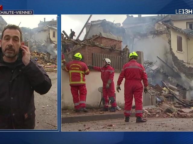 Une maison entièrement soufflée à Limoges