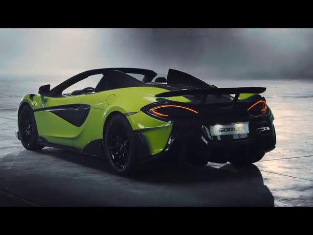 McLaren 600LT Spider, cette sportive enlève le haut en vidéo