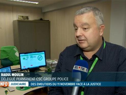 """Le plan anti-émeute à Bruxelles ne prévoit pas de recrutement: """"Si vous n'avez pas le personnel, ça restera un plan dans un tiroir"""""""