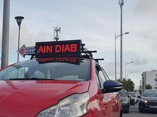 Inédit: Les petits taxis de Casablanca peuvent désormais afficher leur destination