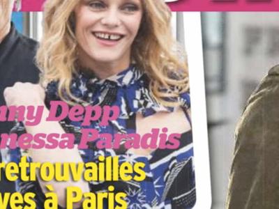 Vanessa Paradis, Johnny Depp, des retrouvailles festives à Paris, gros rapprochement