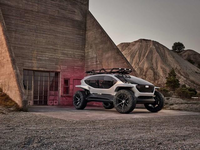 Audi AI:Trail, le buggy lunaire éclairé par des drones!