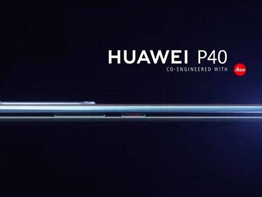 Huawei P40 : un premier rendu de sortie