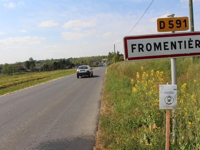 A Fromentières, des travaux pour sécuriser l'entrée du village sont prévus