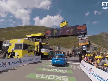 Enedis se donne pour mission d'électrifier le Tour de France