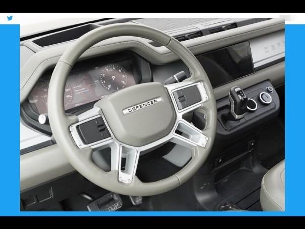 L'intérieur du Land Rover Defender (2020) aperçu !