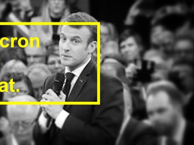 616ème semaine politique: la fin du Grand Débat de Macron.