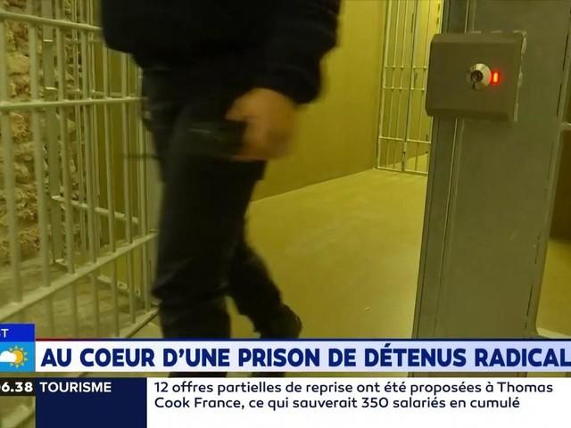VIDÉO - Reportage au coeur d'une prison pour détenus radicalisés