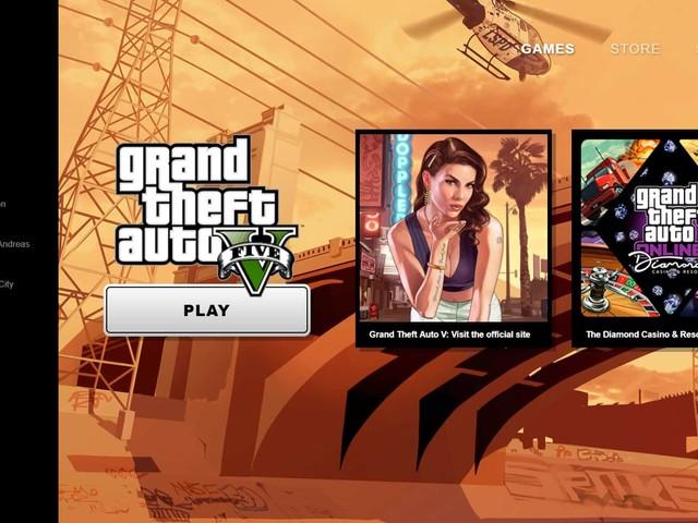 Rockstar Games Launcher : l'application client des créateurs de GTA