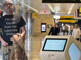 Le port de ce tee-shirt est désormais obligatoire pour tous les trajets Paris-Glasgow