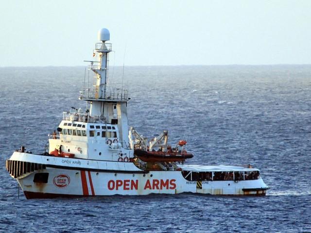 «Open-Arms», six pays se proposent d'accueillir une partie des migrants