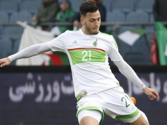 Foot - ALG - Le Rennais Ramy Bensebaini touché à une épaule avec l'Algérie