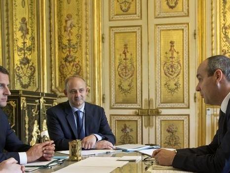 Macron et les partenaires sociaux, le nouveau contrat social