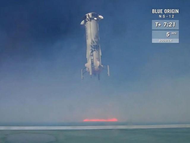 Un nouveau test réussi pour la fusée commerciale de Blue Origin