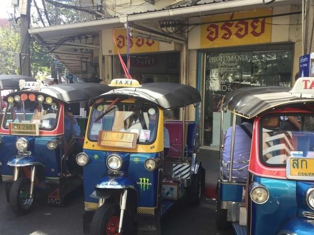 Le transport urbain à Bangkok, un petit survol.