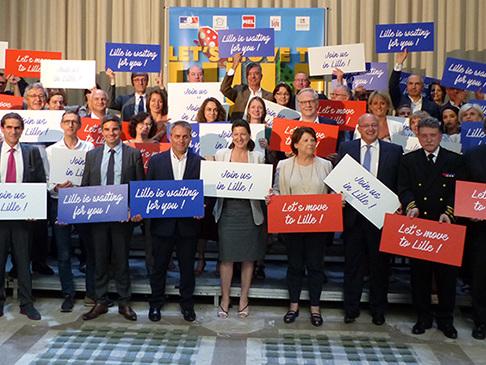 Agnès Buzyn soutient la candidature de Lille pour accueillir l'Agence européenne des Médicaments
