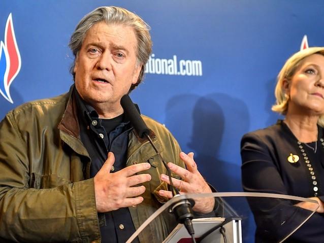 Européennes : Steve Bannon, le tonton gênant qui agace Marine Le Pen