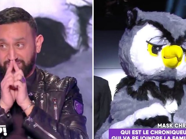 Cyril Hanouna imite Mask Singer pour dévoiler sa nouvelle chroniqueuse