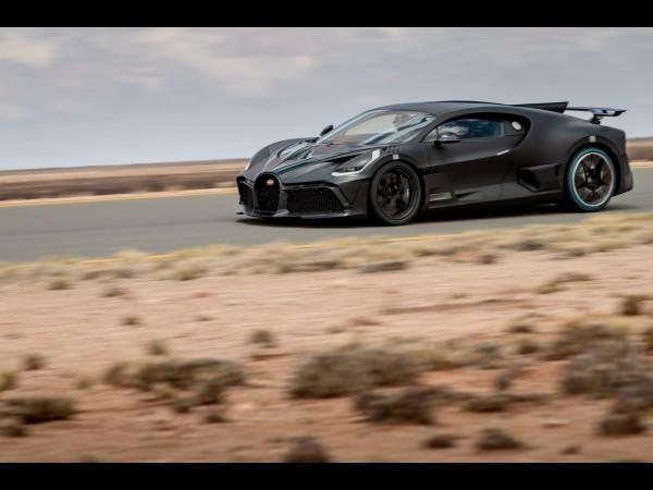 Deniers ajustements pour la Bugatti Divo (2019)