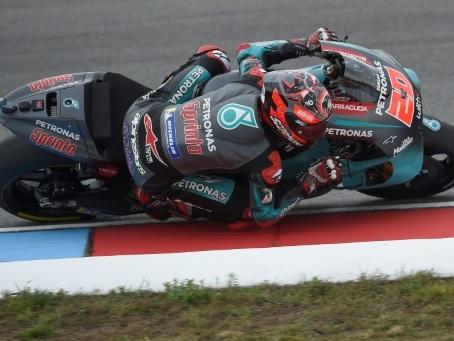 MotoGP: Quartararo reste le plus rapide des 3 essais libres du GP de Rép. tchèque