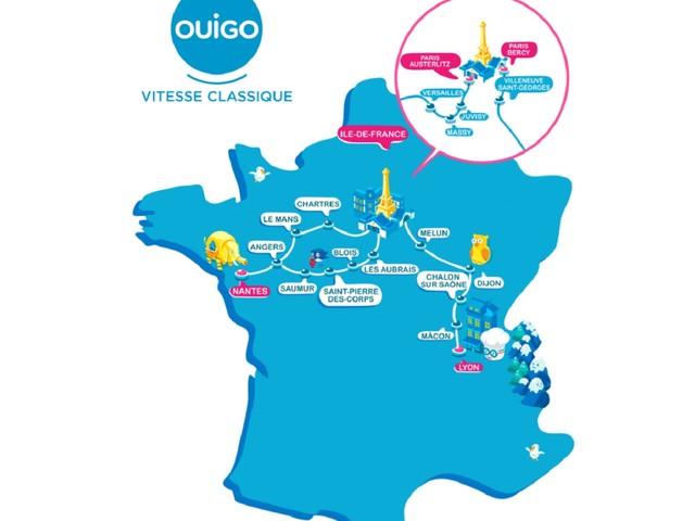 """La SNCF va lancer des trains Ouigo à vitesse """"classique"""""""