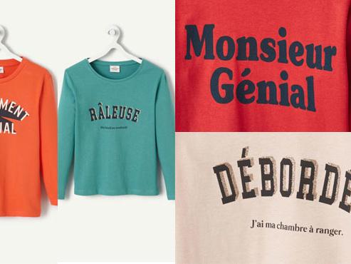 """T-shirt """"Débordée"""" pour les filles, """"Tellement génial"""" pour les garçons: une marque de vêtements pour enfants épinglée pour """"sexisme ordinaire"""""""