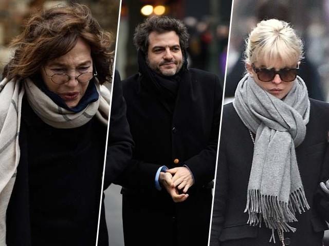 Obsèques France Gall : Jane Birkin, M, Cécile Cassel... ils ont dit adieu à la chanteuse