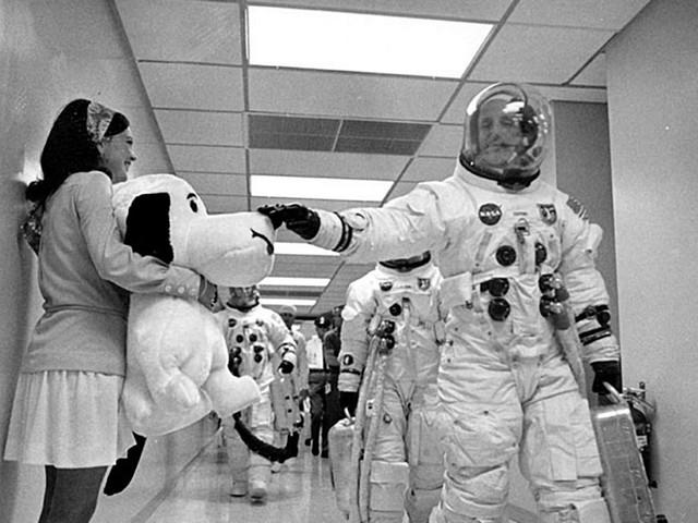 Apollo 10 : ont-ils retrouvé Snoopy ?