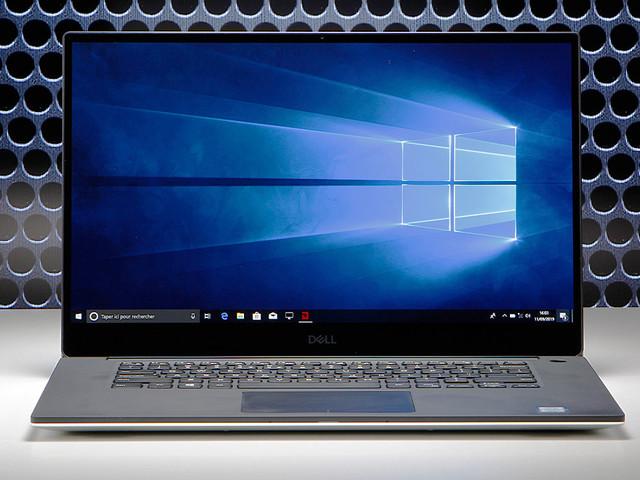 Test du Dell XPS 15 2019 : un PC portable ultra endurant à l'écran OLED bluffant