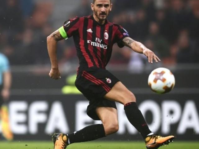 AC Milan: Bonucci exclu après intervention de la vidéo